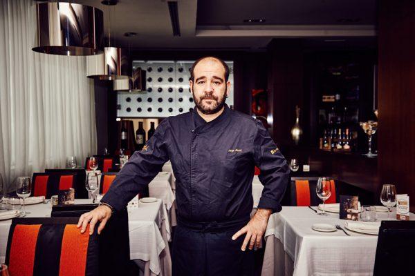 Jorge Martí: el chef que se inspira en melodías