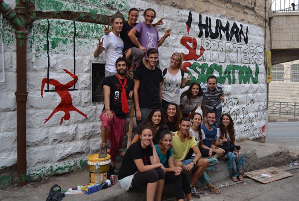 Una experiencia solidaria internacional en Palestina