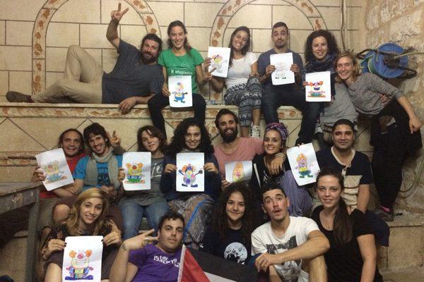 Jóvenes de Rivas regresan de Palestina