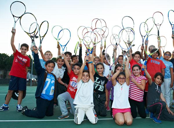 Una ciudad que siente afición por el tenis