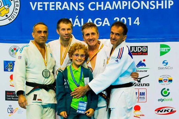 Lorenzo, bronce en el Mundial de veteranos