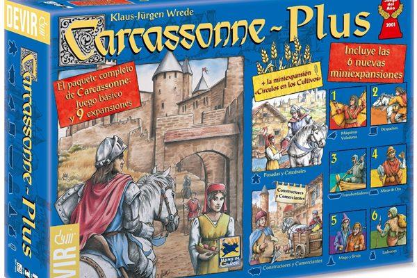 Torneos de Carcassonne y Colonos de Catán