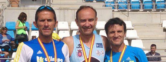 Otra vez campeón de España en 1.500 veteranos