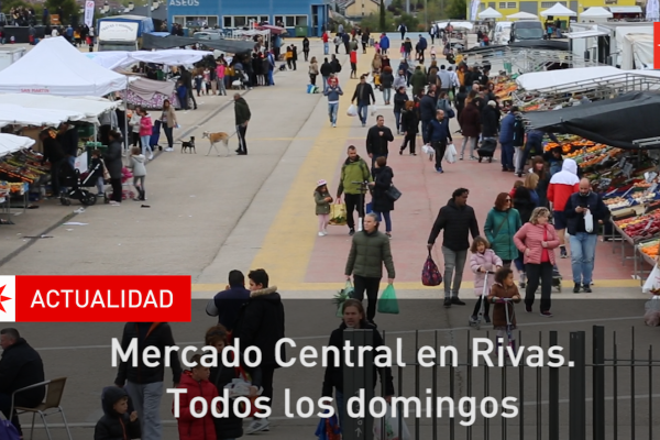 Mercado central en Rivas. Todos los domingos 2019