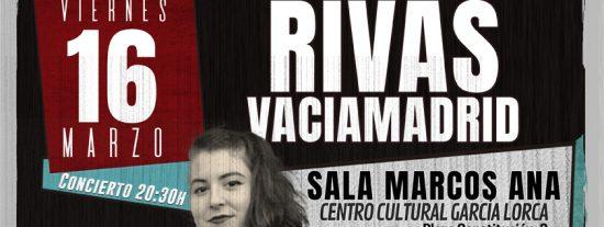 Concierto de La Otra, cantautora feminista