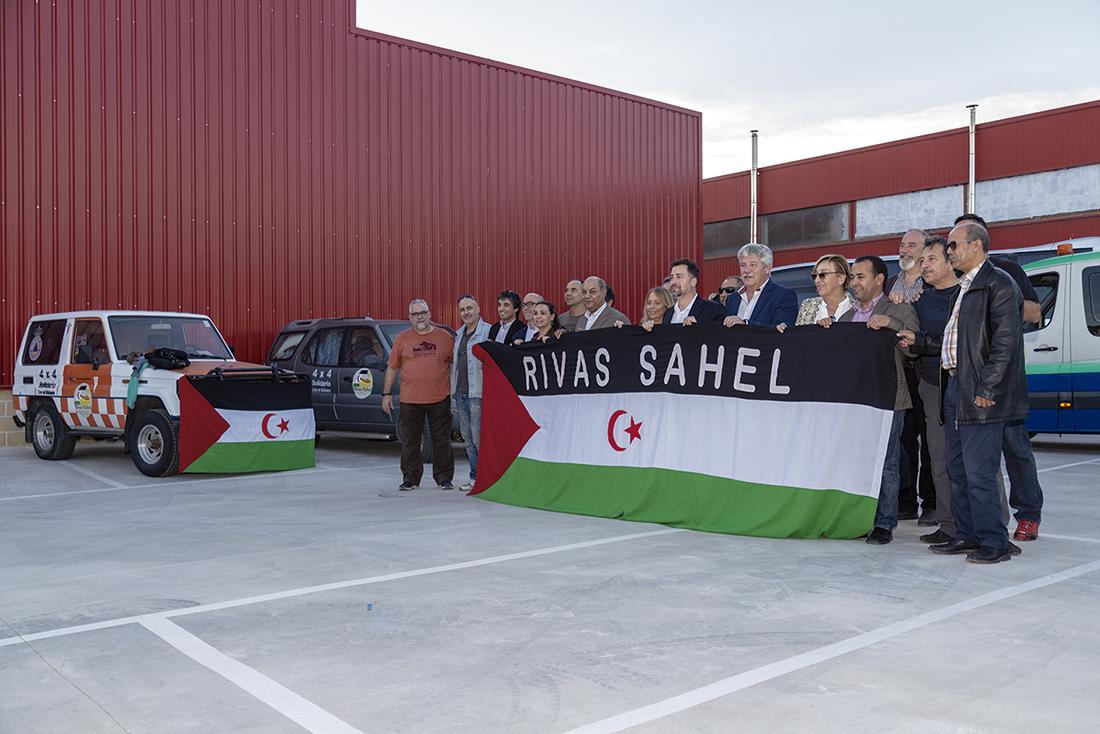 Rumbo al Sáhara con la caravana de Rivas Sahel