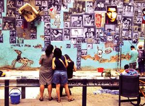 La galería de Magdalena, un regalo urbano para Rivas