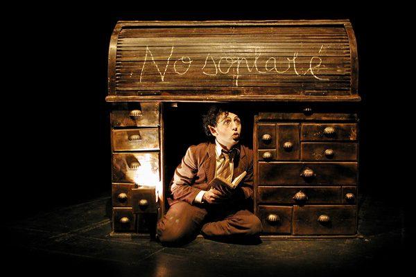'Ildebrando Biribó', muerte teatral en Cyrano