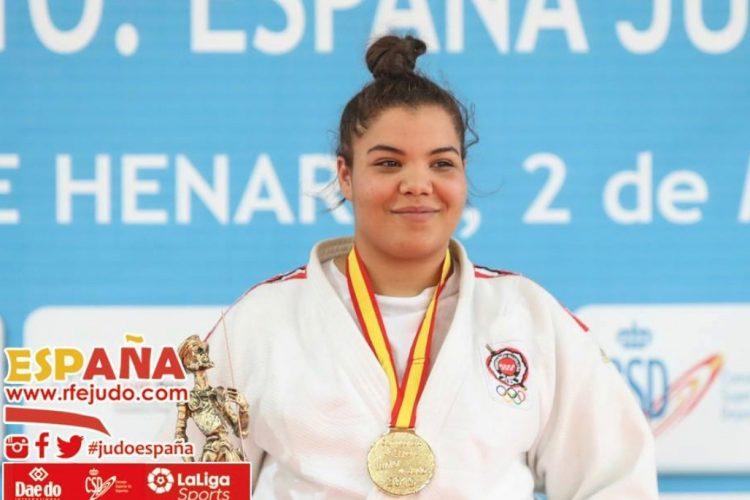 Bousba, campeona de España júnior de yudo