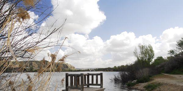 A fotografiar la laguna de El Campillo
