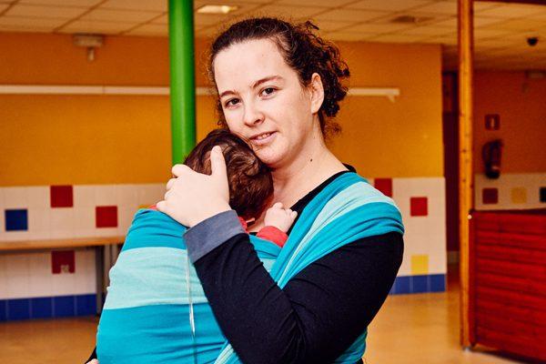 Lo mejor, criar al bebé entre afectos seguros