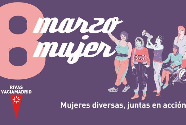 Marzo Mujer 2017: 'Diversas, juntas en acción'