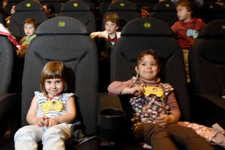 7.000 escolares en las 'matinales' de cine