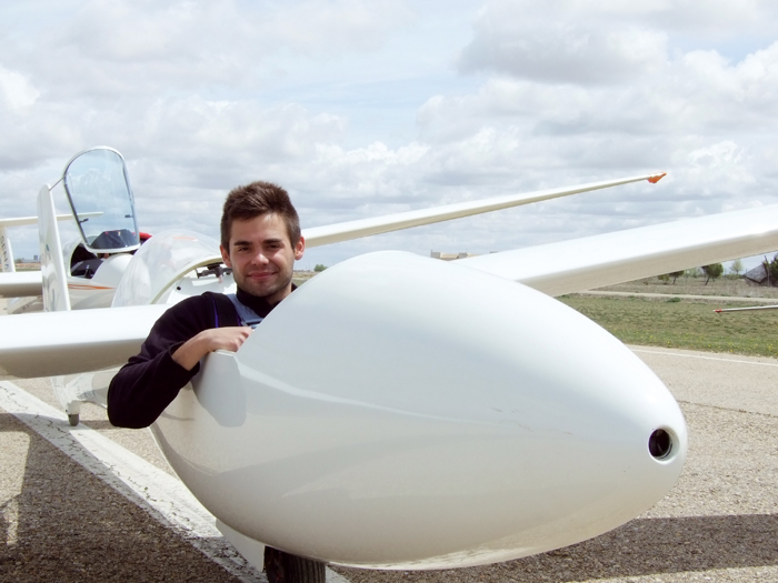 Miguel Yael Pereda, a la conquista del aire