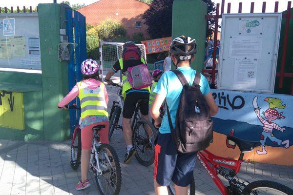 El CEIP Victoria Kent, en los 'caminos escolares'