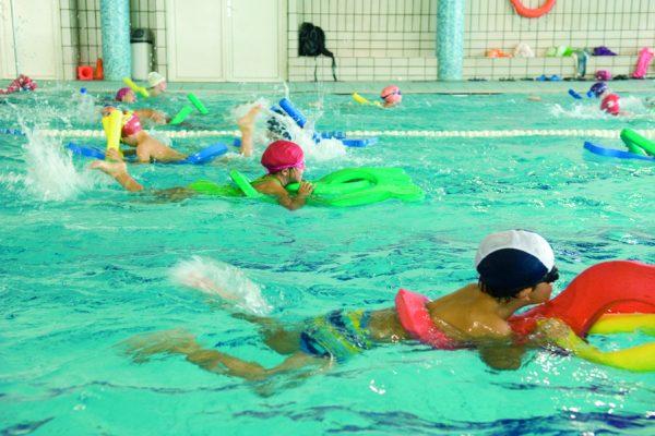 Curso natación infantil junio: plazas sorteadas