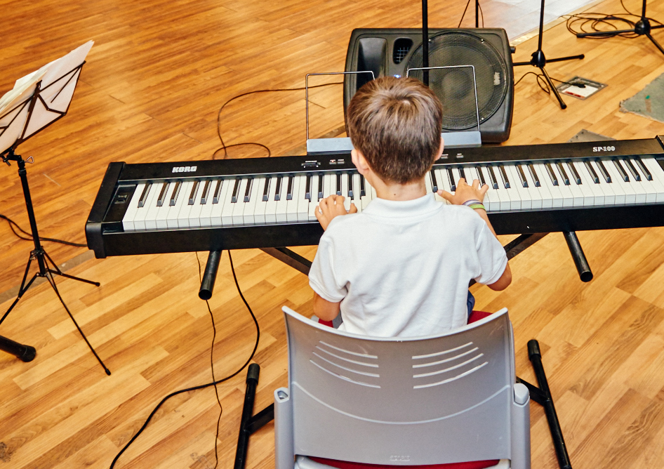Teclado y piano