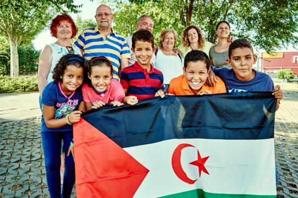 Voces infantiles del desierto del Sáhara
