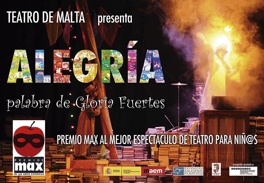 'Alegría, palabra de Gloria Fuertes': teatro familiar