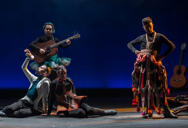 'Cervantina', teatro quijotesco de la lucidez