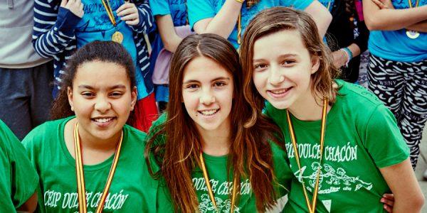 Olimpiada Escolar: 4.500 estudiantes