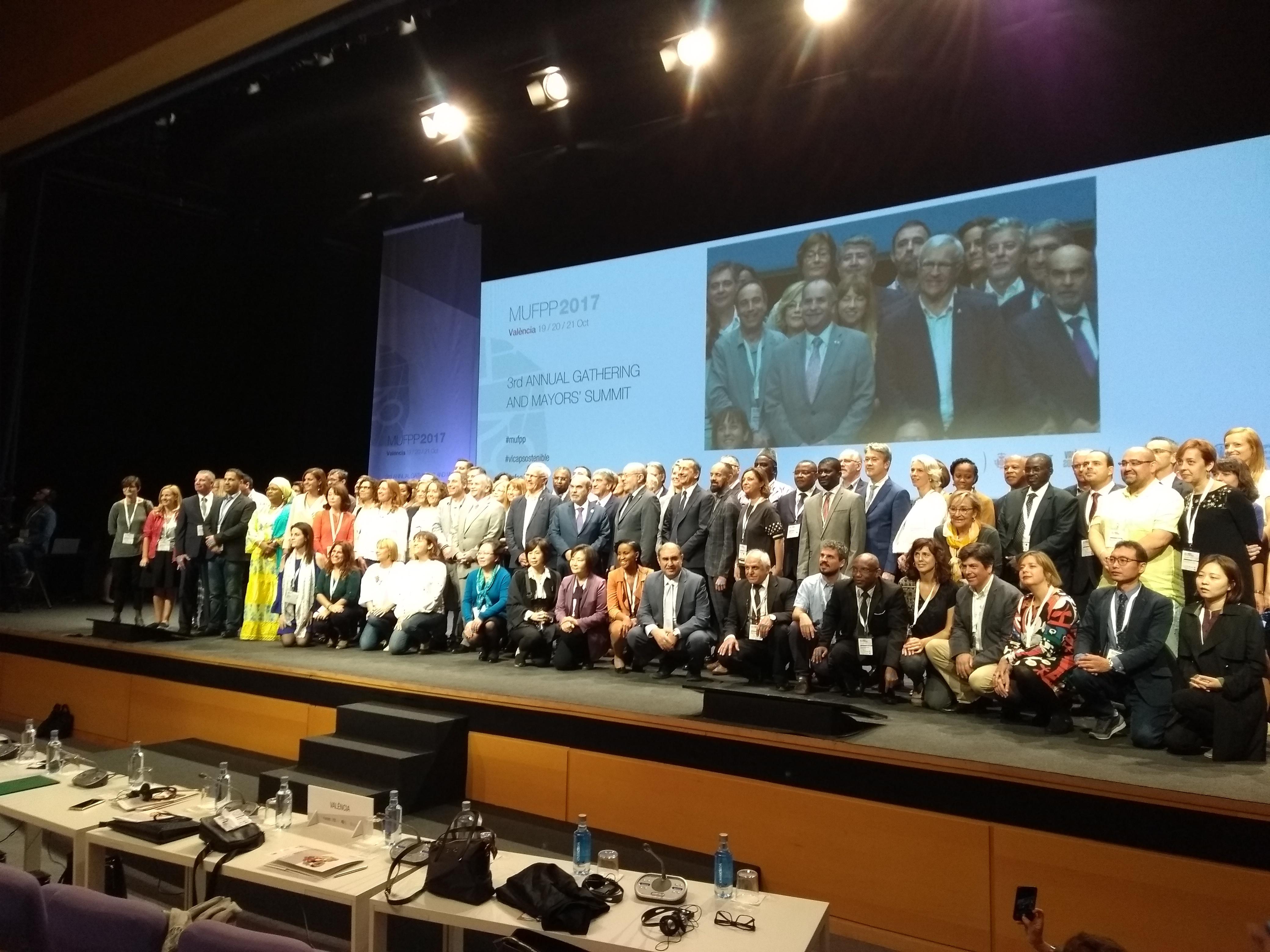 Rivas participa en el encuentro de alcaldes de ciudades firmantes del Pacto de Milán