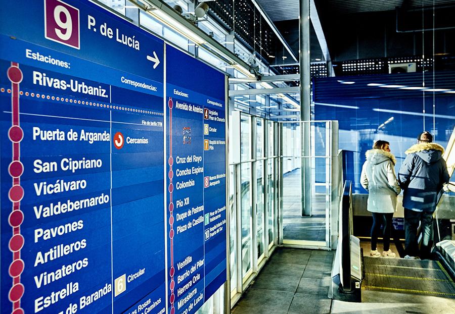 Rivas cede una parcela para la 4ª estación de metro