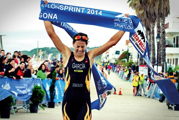 Paula Godino: triatleta campeona de España