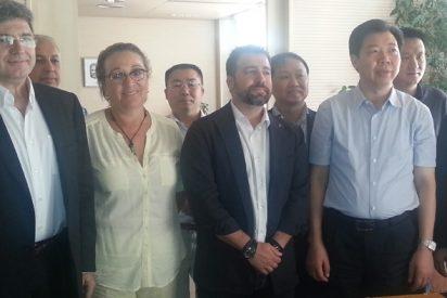 El alcalde de Zhuzhou (China) visita Rivas