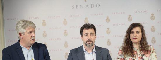 Rivas lleva al Senado el enlace con la M-50