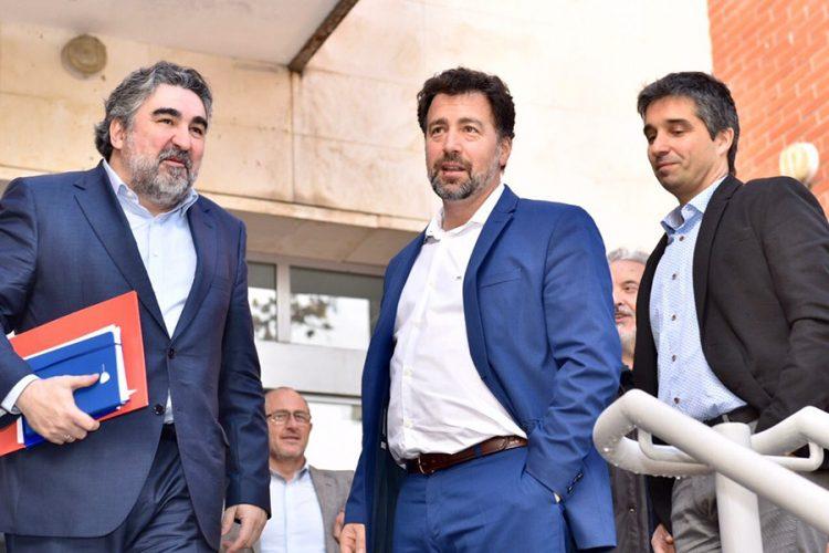 Reunión con el delegado del Gobierno en Madrid