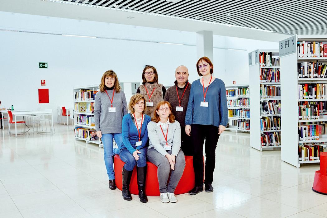 Leer en la Gloria: así es la nueva biblioteca