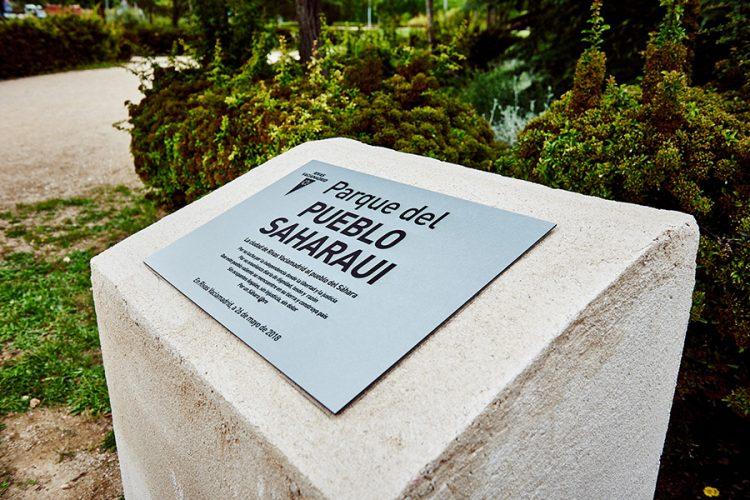 Rivas ya tiene su parque del Pueblo Saharaui