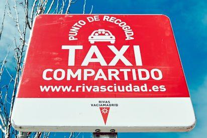 La Comunidad multa al taxi compartido de Rivas