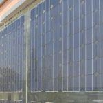 Placas solares en el edificio de Rivamadrid