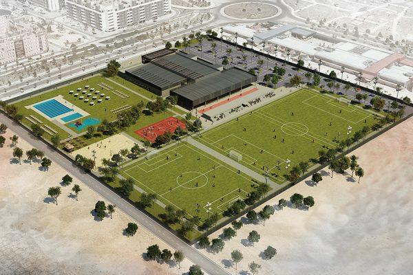 Así será el nuevo centro deportivo de La Luna