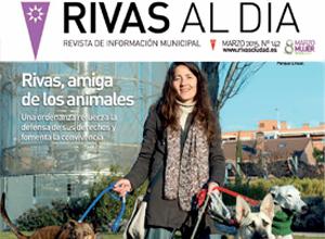 'Rivas al Día', la revista con dos portadas