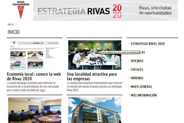Economía local: conoce la web de 'Rivas 2020'