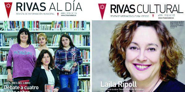 'Rivas Al Día' y 'Rivas Cultural' de abril