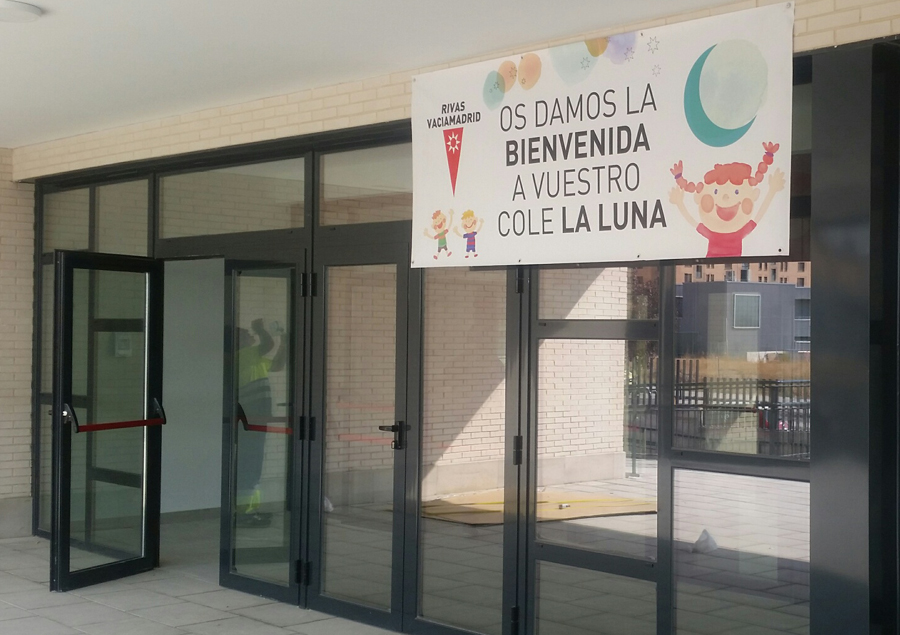 Colegio La Luna: el único de Madrid construido en 2017 por un municipio