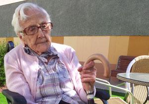 Purificación Martínez: ripense de 108 años