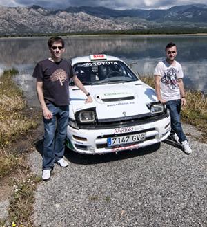 El mejor copiloto madrileño de rally de tierra