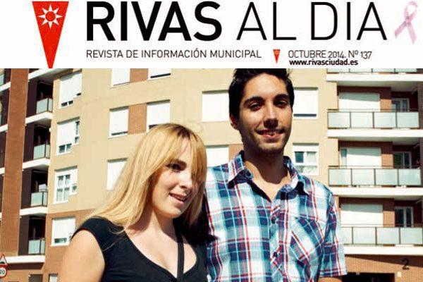 La actualidad de octubre, en la revista 'Rivas al Día'