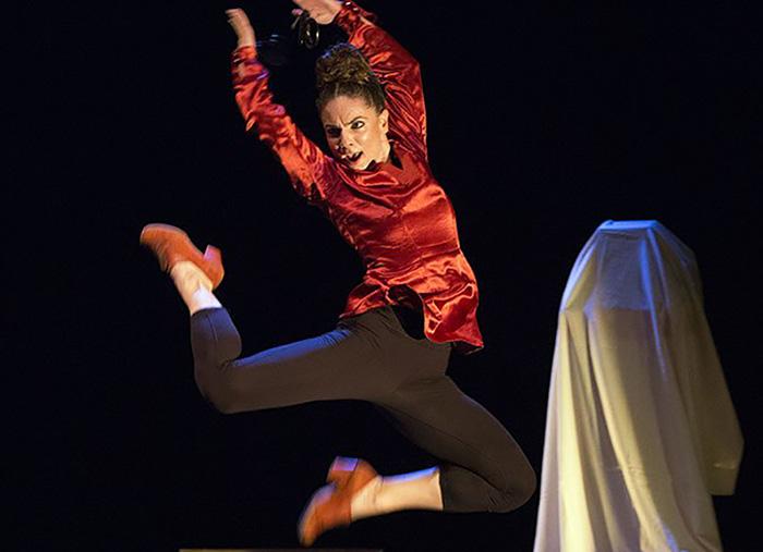 Sara Calero y su danza flamenca 'Petisa Loca'