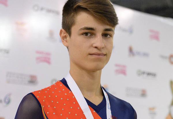 Canales, subcampeón mundial de patinaje