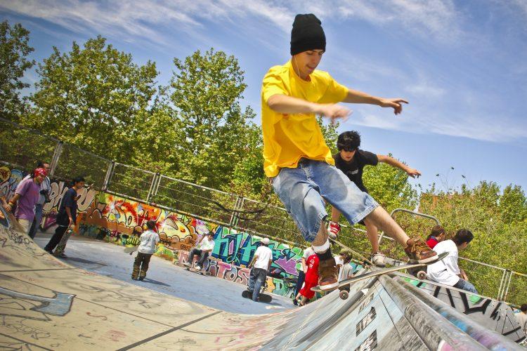 Taller para crear módulos para el skatepark