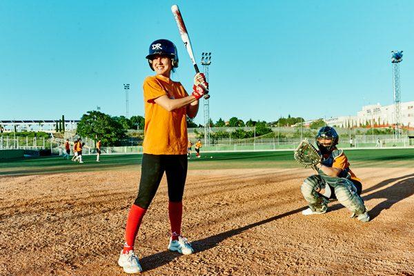 Dridma Rivas, el placer de batear en sófbol