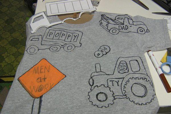 Talleres formativos: a decorar camisetas y llaves