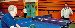 Pasa la bola: el tenis de mesa no tiene edad