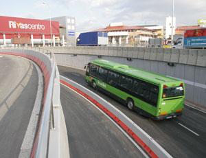 Unidad tarifaria para los autobuses en Rivas